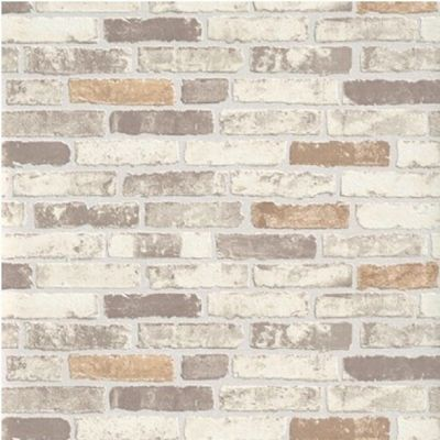 ERISMANN TEXTURED GREY WHITE BRICK WALL PASTE THE WALL VINYL WALLPAPER 6703-11 | eBay