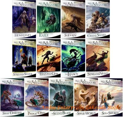 Legend of Drizzt Collection Forgotten Realms Series Set 1-13 by RA Salvatore 786939532   eBay