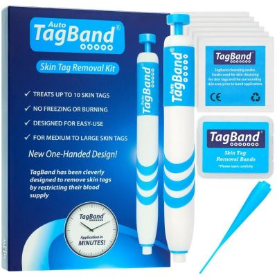 Auto TagBand Skin Tag Removal Device Kit. The Fast & Effective Skin Tag Remover! | eBay