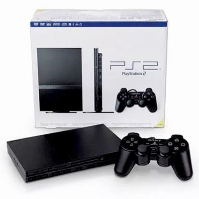 Used Black PlayStation 2 Console Slim PS2 BUNDLE Lot, Good Condition! *Free S&H* | eBay