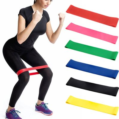 new Elastic Resistance Band Exercise Loop Home Gym Yoga ...