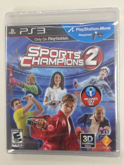 Sports Champions 2 Move (Sony Playstation 3) - PS3 Games ...