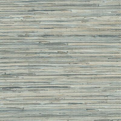 Blue Grey Faux Grasscloth Wallpaper NT33703 | eBay
