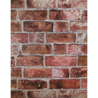 Red Brick Wallpaper | Embossed Textured Vinyl Bricks Stones Wallcovering |HE1044 | eBay