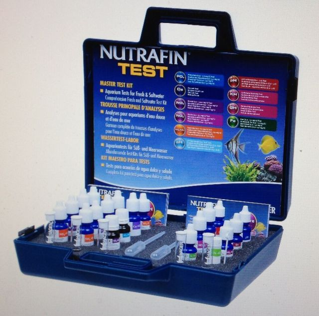 Water Test Kit Freshwater and Saltwater Aquarium and Pond | eBay