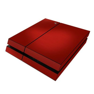 Sony PS4 Console Skin Kit - Red Burst - DecalGirl Decal | eBay