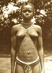 african zulu young girls
