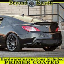 S Fits 20102016 Hyundai Genesis Coupe Custom Style Lip Spoiler Wing PRIMER  COATED