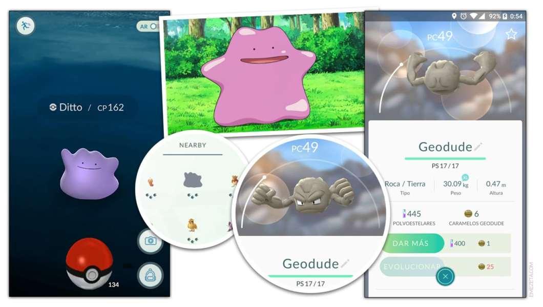 Huevos de pascua de Pokémon Go: Teorías y Ditto