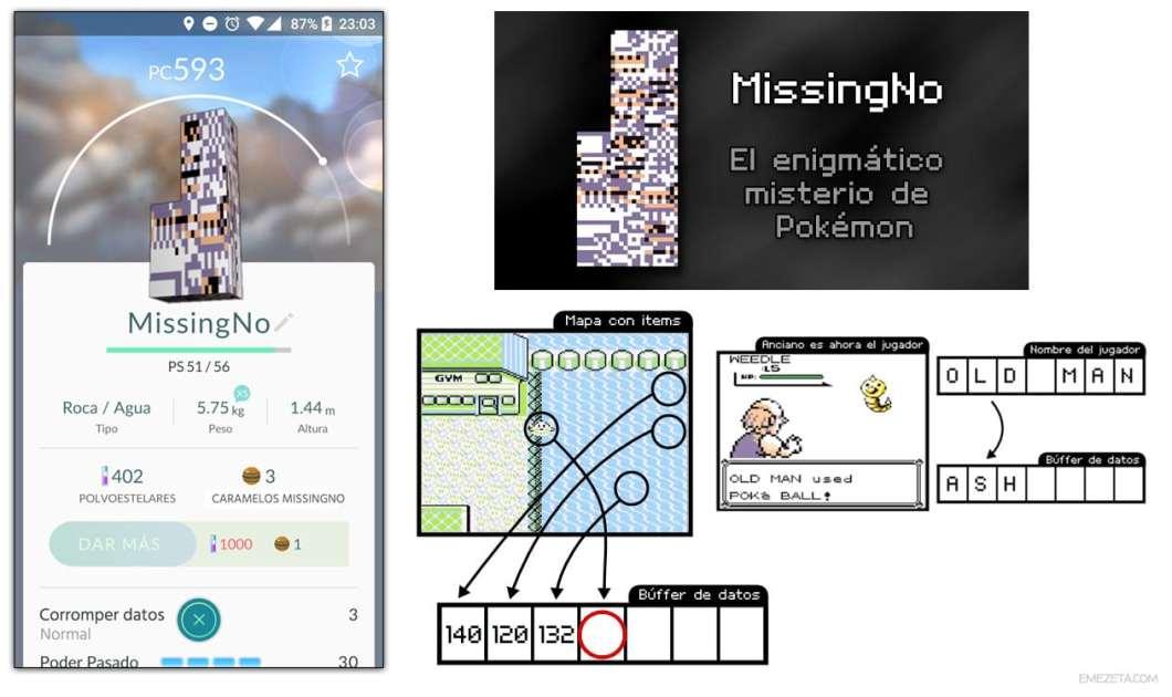 MissingNo en Pokémon Go