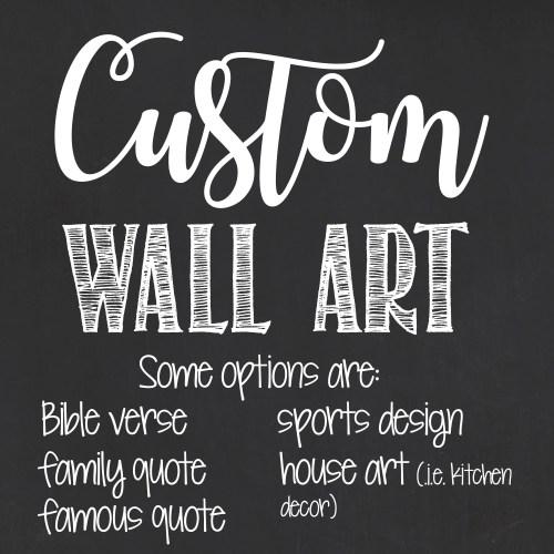 Medium Crop Of Personalized Wall Art
