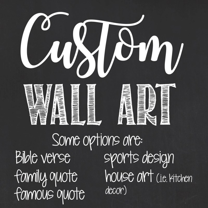 Large Of Personalized Wall Art