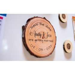 Picture Envelopes Wood Slice Save Date Magnets Save Date Magnets Birthday Save Date Magnets