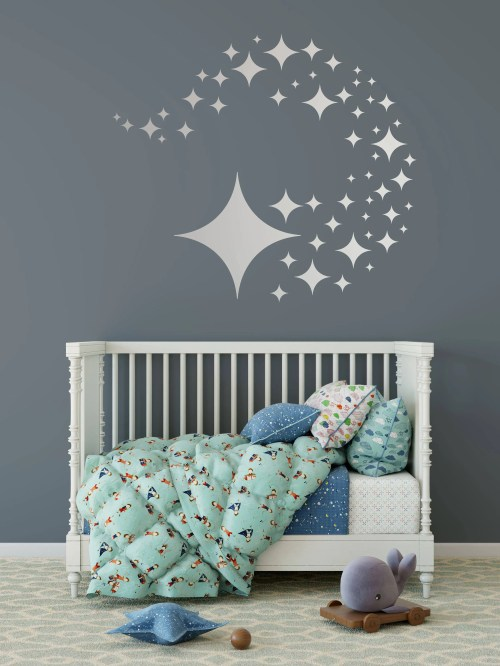 Medium Of Wall Decals For Nursery