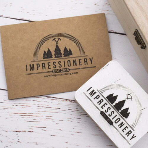 Medium Of Custom Logo Rubber Stamps
