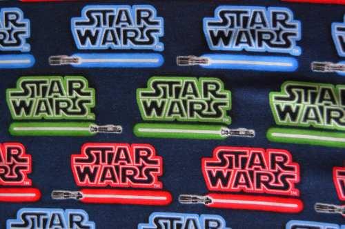 Medium Of Star Wars Fabric
