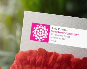 Tupperware labels   Etsy Tupperware   Printable Return Address Labels   Personalized for Tupperware  Independent Consultants