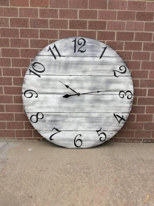 Medium Of Oversized Wall Clocks
