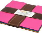 LAYER CAKE - Kona® Cotton - Classic Palette