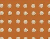 Lotta Jansdotter Fabric - Limmikki - Piste in Mandarin