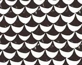 Lotta Jansdotter Fabric - Hemma - Orancy in Gray