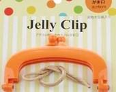 "Jelly Clip - Orange - 4"""