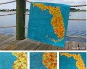 Florida Quilt PRINT pattern and FABRIC KIT by Linda Hungerford