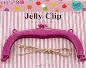 """Jelly Clip - Purple - 7"""""""