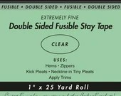 """Double Sided Fusible Stay Tape - 1"""""""