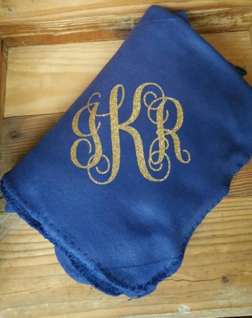 Medium Of Personalized Fleece Blankets