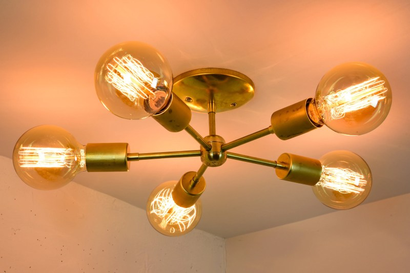 Large Of Mid Century Modern Chandelier