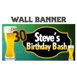 Seemly Cheers Beer Happy Birthday Banner Happy Birthday Personalize Partybanners Or Outdoor Cheers Beer Happy Birthday Banner Happy Birthday Personalize