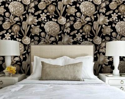 Toile wallpaper | Etsy