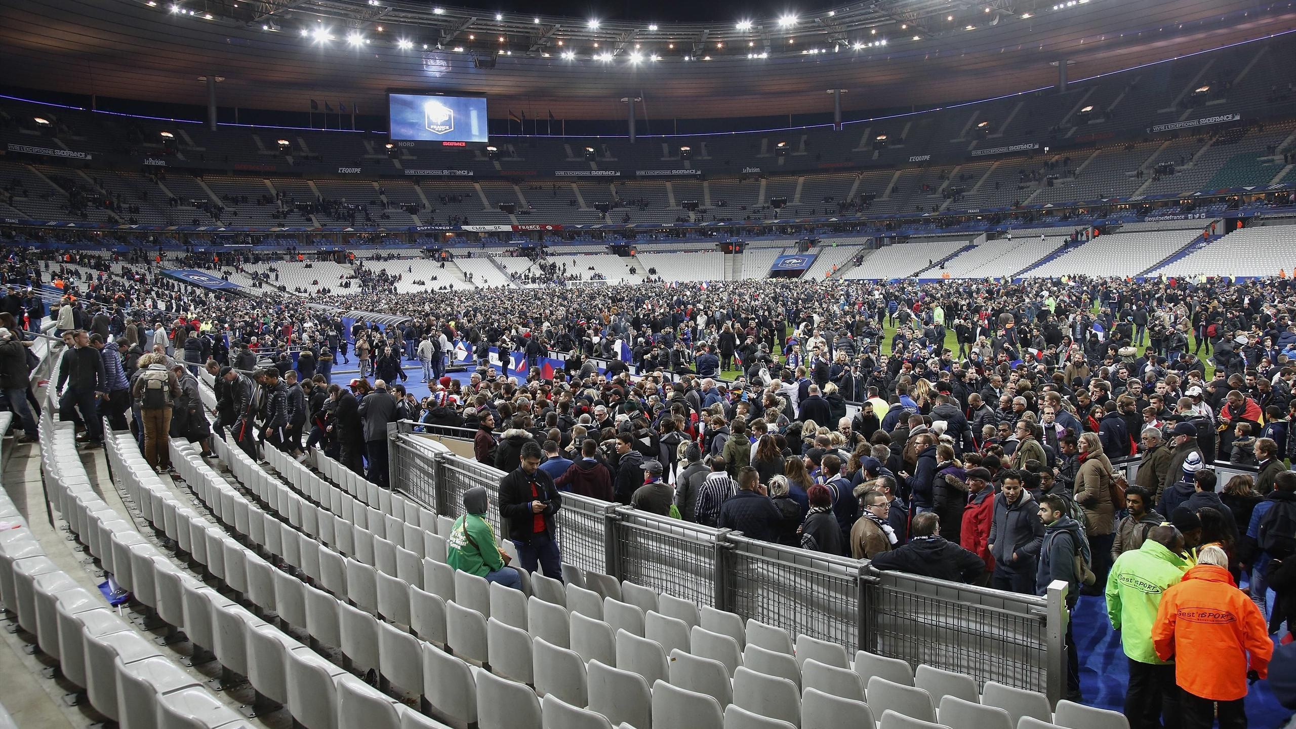 Security guard  prevented bomb detonating inside Stade de France  in     Security guard  prevented bomb detonating inside Stade de France  in Paris    Football   Eurosport UK