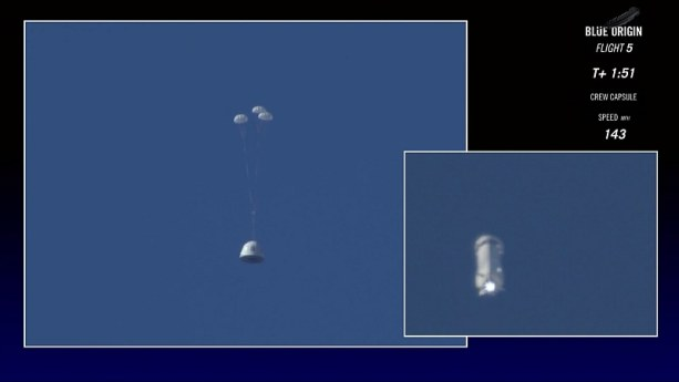 Blue Origin Successfully Tests Escape System, Lands Rocket