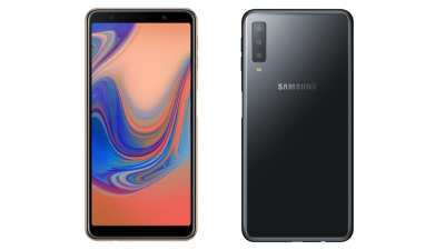 Samsung Galaxy A7 (2018) Is a Mid-Range Phone With Triple Camera Setup: Price, Specifications ...