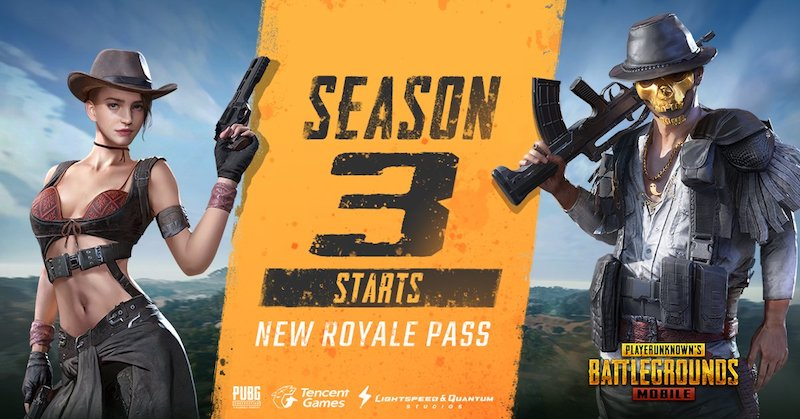 PUBG Mobile Season 3 Now Live With New Royale Pass   Technology News PUBG Mobile Season 3 Now Live With New Royale Pass