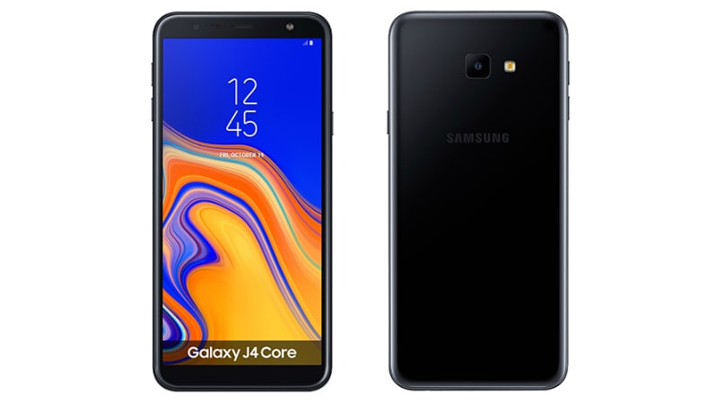 Samsung Galaxy J4 Core Running Android Go With 6-Inch HD+ Display, 3,300mAh Battery Unveiled ...