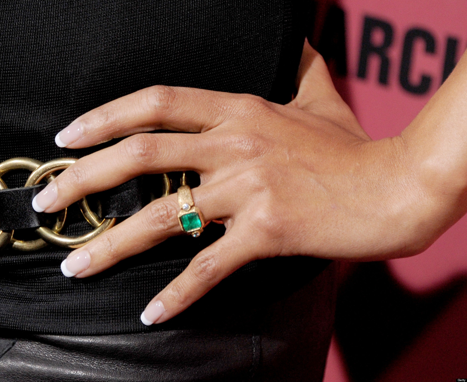 celebrity engagement ring n wonder woman wedding ring Celebrity Engagement Rings Our Favorite Sparkly Indie Stunners PHOTOS HuffPost