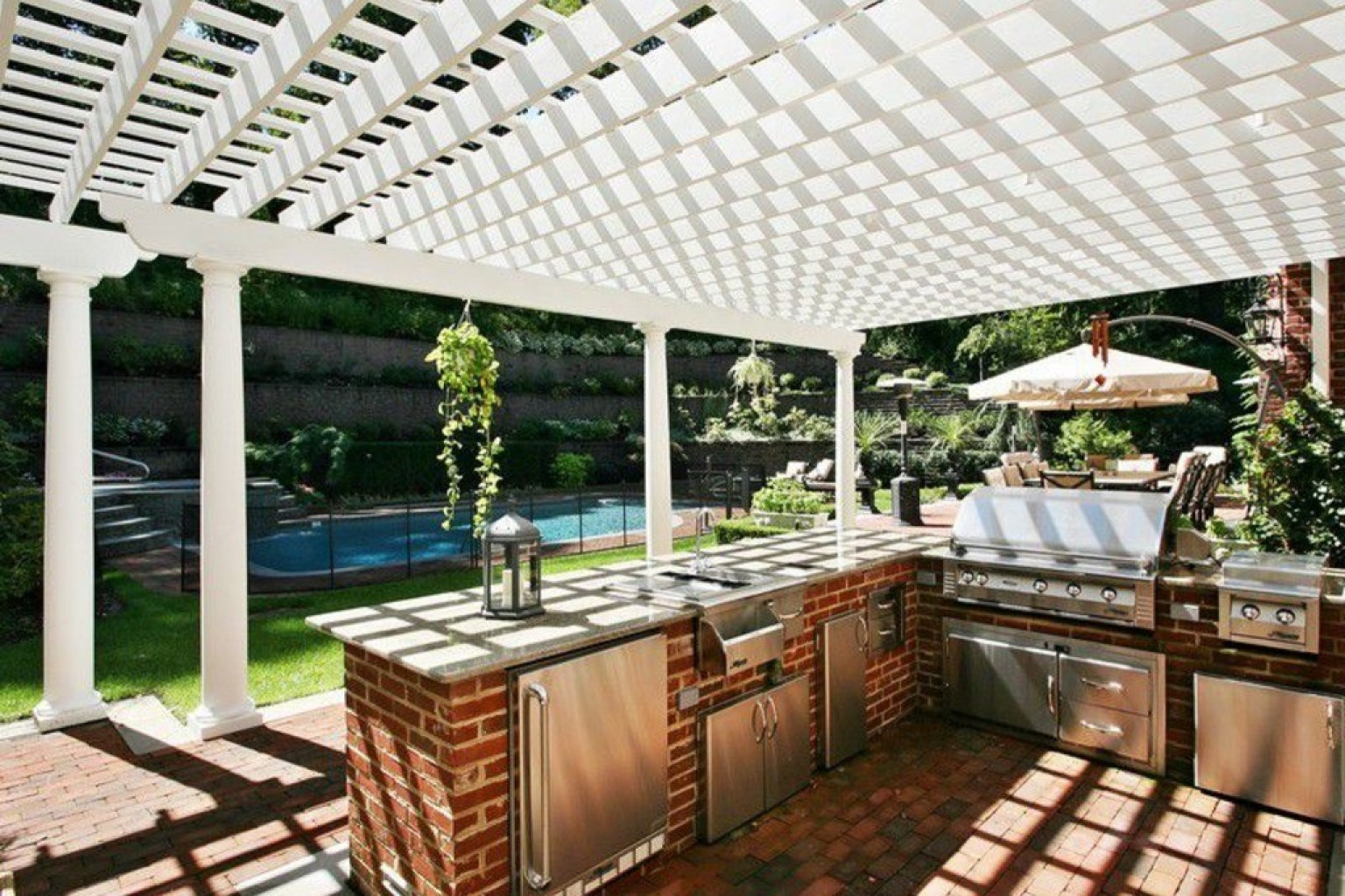outdoor kitchens cook outside n outdoor kitchen designs 14 Incredible Outdoor Kitchens That Go Way Beyond Grills PHOTOS HuffPost