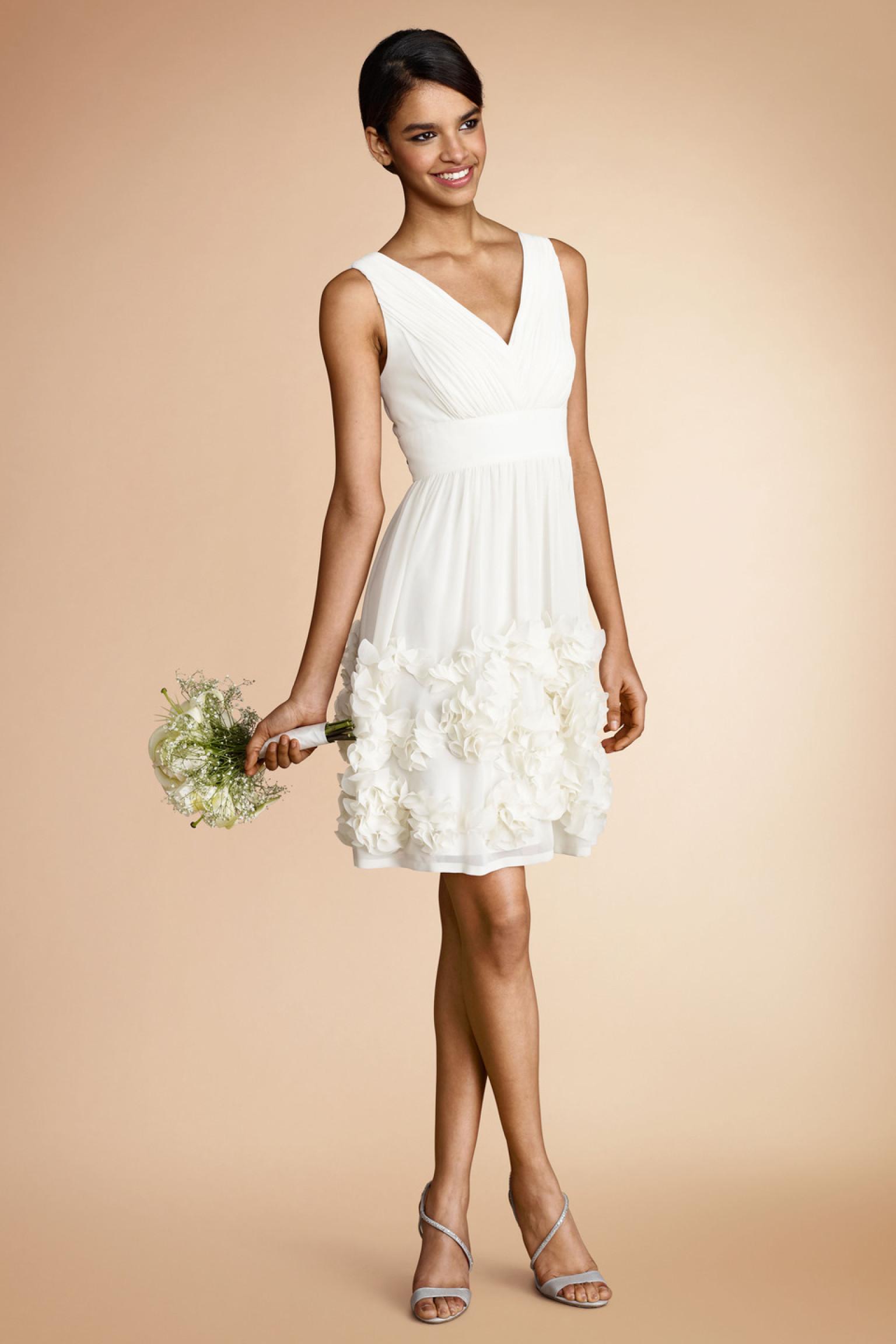 little white dress n simple white wedding dresses
