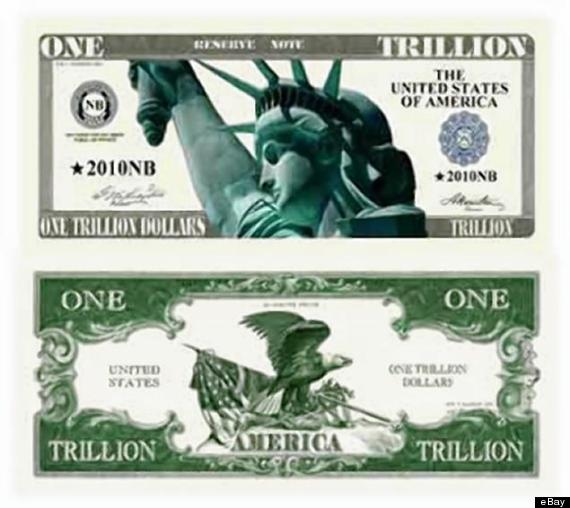 1 trillion bill
