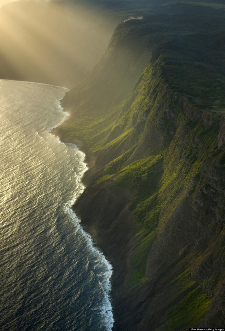 molokai cliff