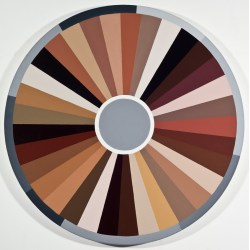 Small Crop Of Color Wheel Paint