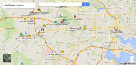 google map woodlawn serial