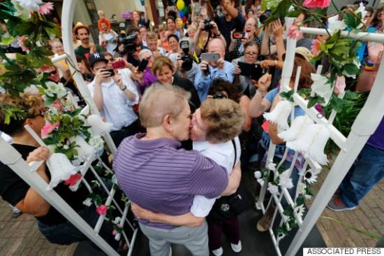 couple marries