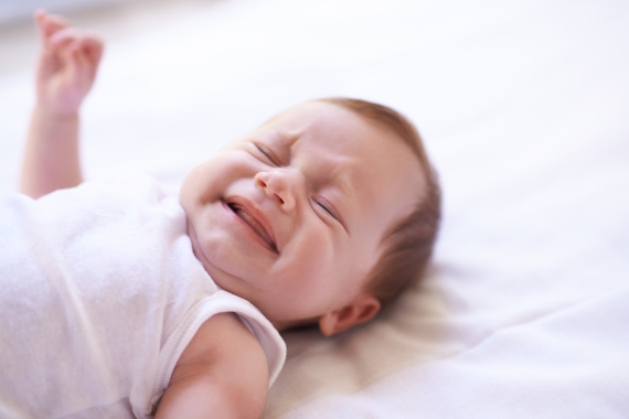 crying new born baby
