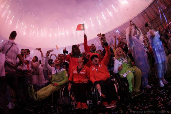Clôture des Jeux paralympiques de Rio sous le signe de l'émotion