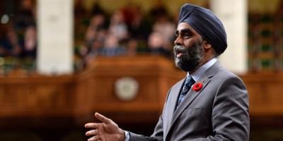 Harjit Sajjan: Trump's Victory Doesn't Change Canada's Commitment To NATO