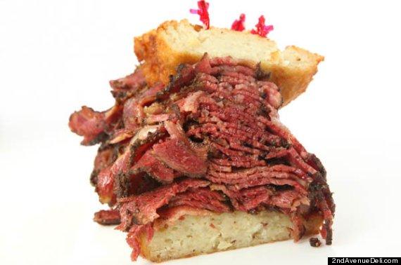 instant heart attack sandwich 2nd avenue deli